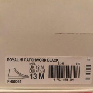 Other - Foot patrol x Pro Keds Royal hi patchwork black